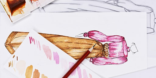 Fashion Illustration with Watercolours for Beginners with Maria McGovern