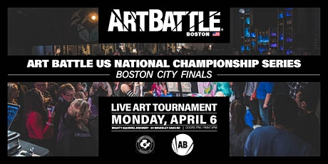 Art Battle Boston City Finals - April 6, 2020 tickets