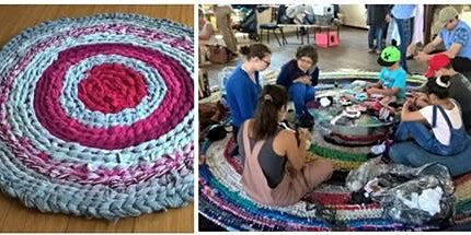 Turning T-Shirts into Rugs