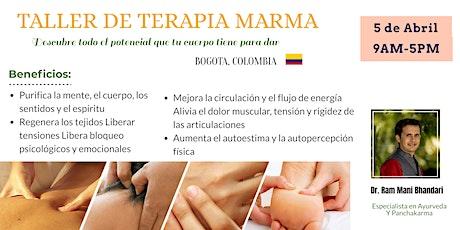 Taller de Terapia Marma boletos