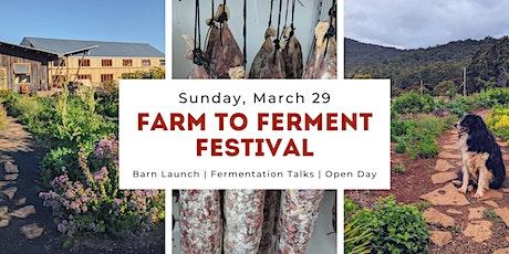 Farm to Ferment Festival tickets