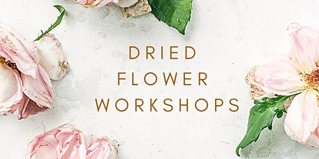 Vintage Jar Dried Flower Arrangement Workshop tickets
