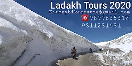 LADAKH BIKE TOUR- DELHI LEH DELHI EXPEDITION- 13 DAYS/ 12 NIGHTS- 2020 tickets