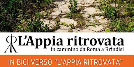 """In bici verso """"L'Appia Ritrovata"""""""