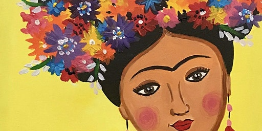 Paint & Sip Night - Painting Frida Kahlo @ CHANCELLOR TAVERN