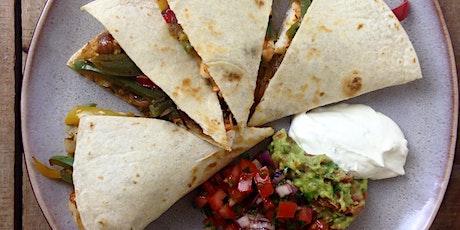 Dublin Cooking Class - Tacos, Burritos, and Quesadillas  tickets