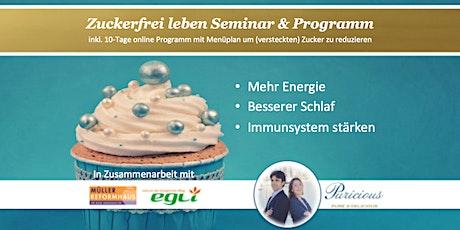 Zuckerfrei leben Workshop bei Egli Bio - Mittwoch 13. Mai 2020 (17 - 19 Uhr) Tickets