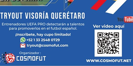 SOCCER TRYOUT GETAFE GIMFA boletos