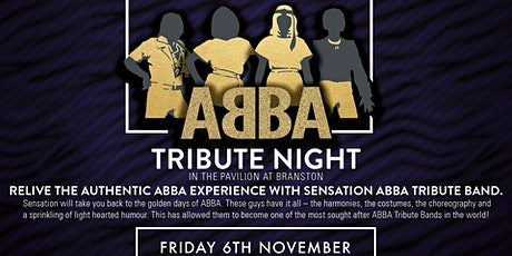 Sensation - Abba Tribute  - Including 3 course dinner tickets