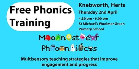 Free Phonics Training  in Knebworth, Herts tickets