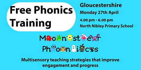 Free Phonics Training  in Gloucestershire tickets