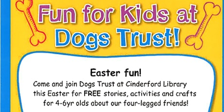 Cinderford Library - Dogs Trust tickets