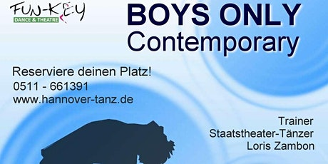 BOYS ONLY - Contemporary im Fun-Key Dance & Theatre Tickets