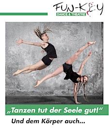 Fun-Key Dance & Theatre logo