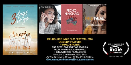 Melbourne Indie FF 2020 – Feel Good Movies Monday Night tickets