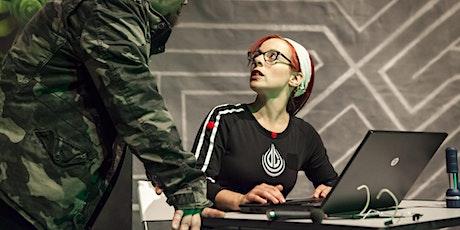>druck.  Theatre event in German. tickets