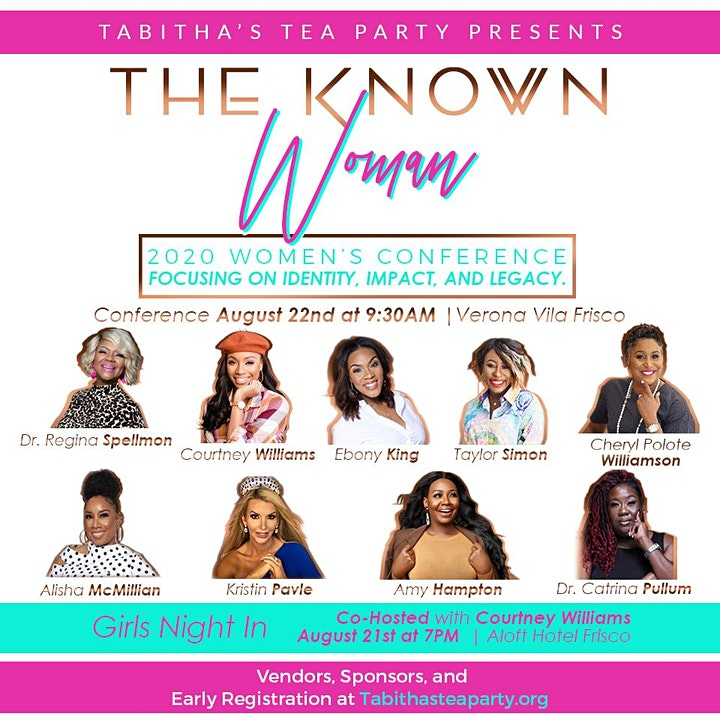 The Known Woman: Women's Conference 2020 image