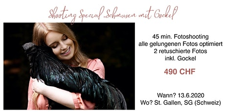 "Shooting ""Schmusen mit Gockel"" tickets"