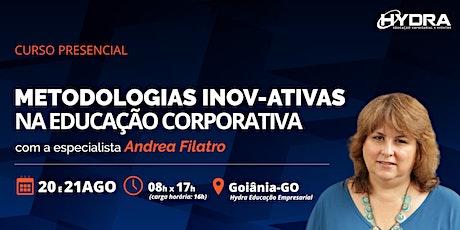 Curso Presencial:  Metodologias Inov-ativas na Educação Corporativa ingressos