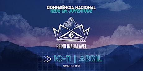 Conferência Nacional RJ - Reino Inabalável ingressos