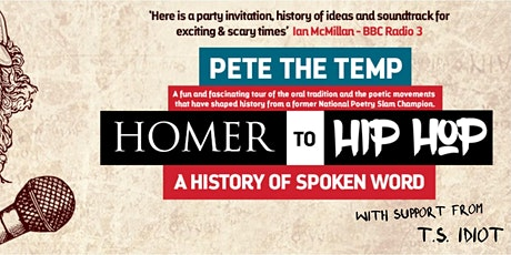 Pete The Temp: Homer To Hip Hop tickets