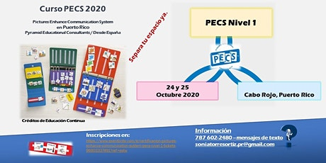 "CERTIFICACIÓN  ""Pictures Enhance Communication System"" (PECS) Nivel 1 tickets"