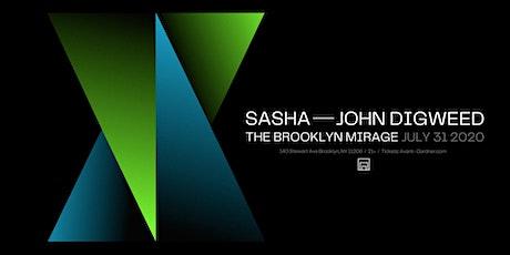 Sasha - John Digweed at The Brooklyn Mirage tickets