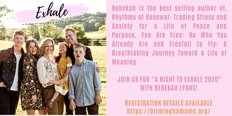 Exhale Spring Event featuring Rebekah Lyons tickets