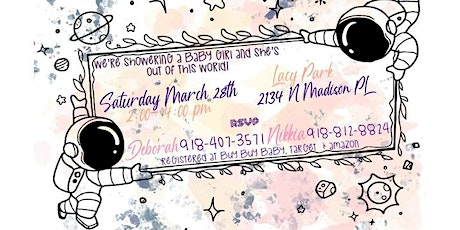 Showering a baby girl! (POSTPONED) tickets