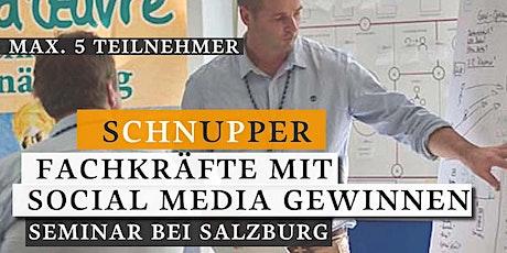 Schnupperseminar: mit Social Media Fachkräfte gewinnen Tickets