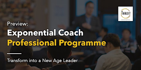 Preview: Exponential Coach Professional Programme tickets