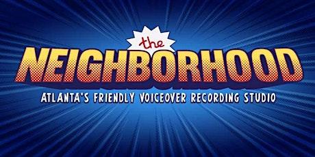 Beginners Voice Over Workshop! tickets