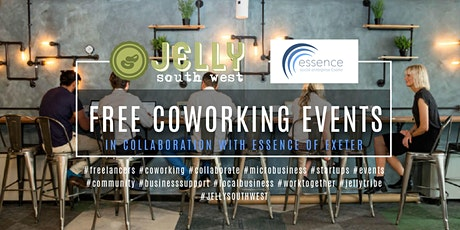 JELLY SOUTH WEST / ESSENCE OF EXETER COLLABORATION | CO-WORKING EVENT | EXETER tickets
