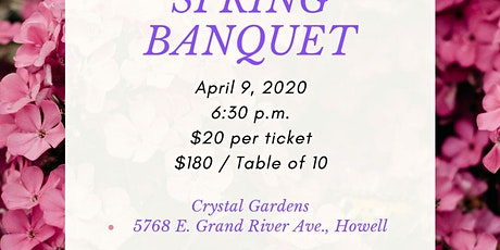 2020 Second Chance Spring Banquet tickets