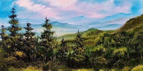 Bob Ross Oils Class Sun May 24th 9:00am - 3:00pm $70 Includes Materials tickets
