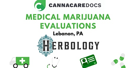 Spring Medical Marijuana Evaluations - Lebanon PA tickets
