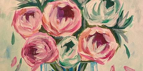 Pretty Peonies - Celebration Paint,Tea & Cake, Colonel Dane Hall, Alwalton tickets
