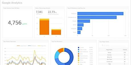 Introducción a Google Analytics - Estadísticas de sitios web tickets