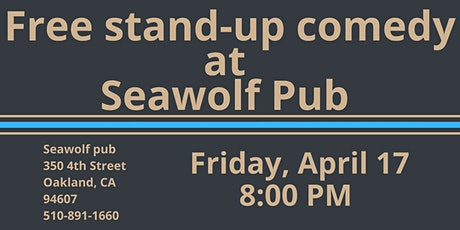 Free Stand-Up Comedy at Seawolf Pub tickets