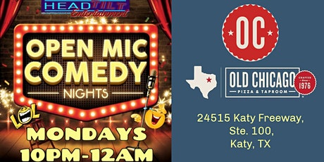Open Mic Comedy Nights at Old Chicago- Katy tickets