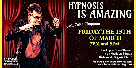 The Hypnosis is Amazing Show tickets