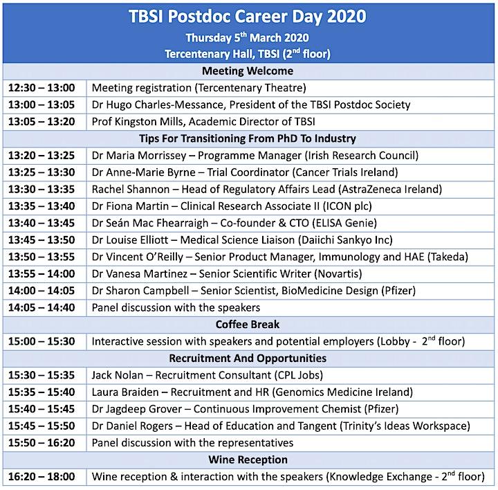 Postdoc Career Day 2020 image