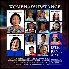 Women of substance . logo