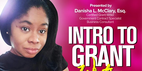 Intro To Grant Writing Class tickets