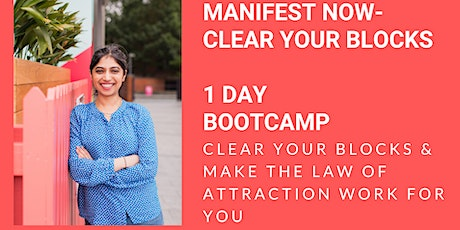 Manifest Now! Clear Blocks 1 DAY BOOTCAMP tickets