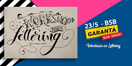 Workshop de Lettering e Caligrafia/BSB MAIO ingressos