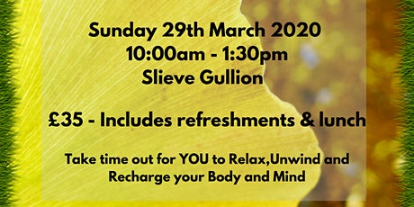 Spring Wellness - RELAX - UNWIND - RECHARGE tickets