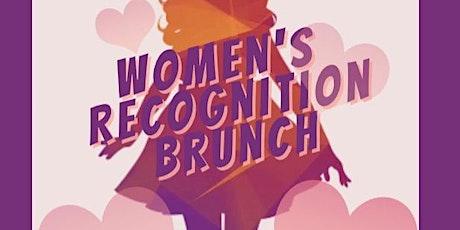 Women's Recognition Brunch tickets
