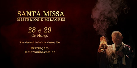 Curso Santa Missa - Mistérios e Milagres | Março | 2020 tickets