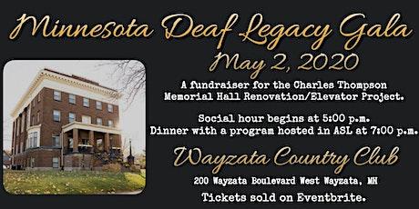 Minnesota Deaf Legacy Gala tickets